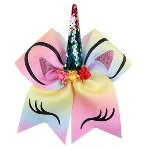 Other - NEW Multi-colored Unicorn Hair Bow